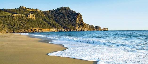 пляж Аланья